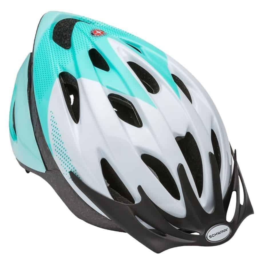 Schwinn Thrasher Adult Helmet – Teal white 14+