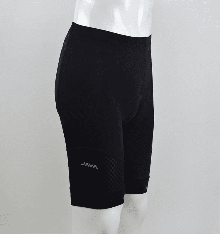 JAVA Cycling pants short for men – black